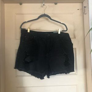 Wild fable distressed shorts